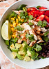 Southwest Chicken Chopped Salad with Chipotle Honey Dressing