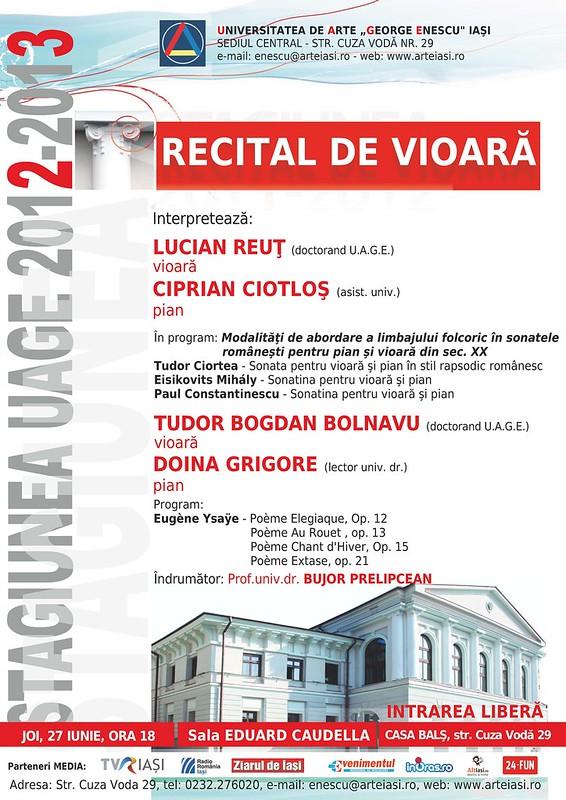 2013.06.27.Recital vioara Reut - Bolnavu
