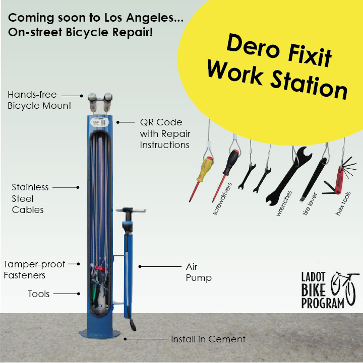Bicycle Repair Stations Archives Ladot Bike Program