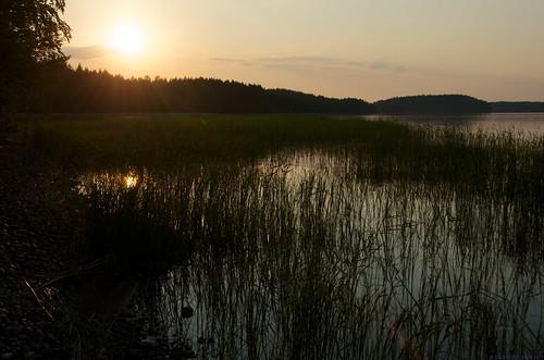 sunset summer lake suomi finland lago verano fin finlandia savonlinna puestadelsol saimaa auringonlasku kesä järvi
