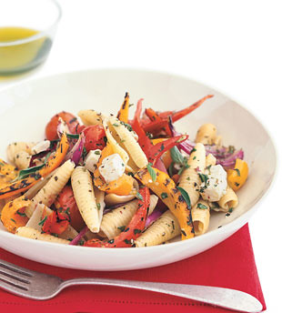 Pasta with Grilled Vegetables and Feta | Flickr - Photo Sharing!