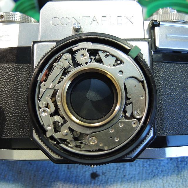Rangefinderforum com - Zeiss Ikon Contaflex II Shutter Repairs