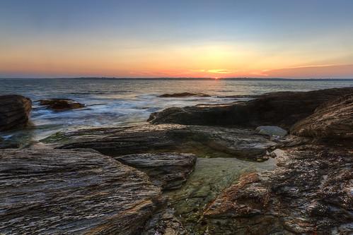 Beavertail State Park Seascape by mike_dooley via I {heart} Rhody