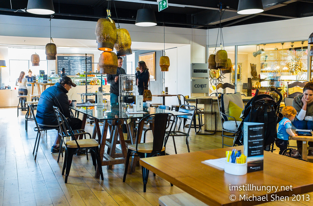 Chalkboard Cafe interior