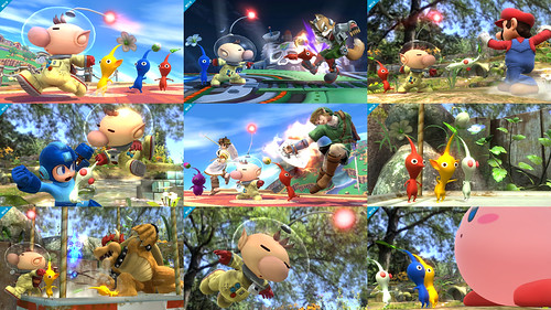 Pics Olimar & the Pikmin Join Super Smash Bros. Wii U / 3DS