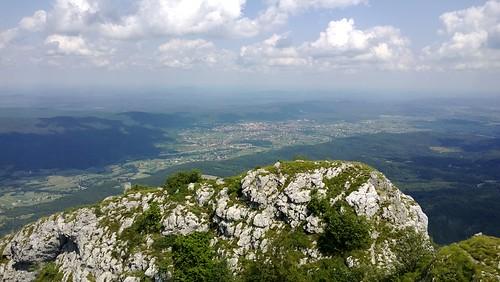 mountain nature landscape croatia climbing hd klek