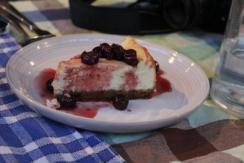Jamie Oliver easy vanilla cheesecake