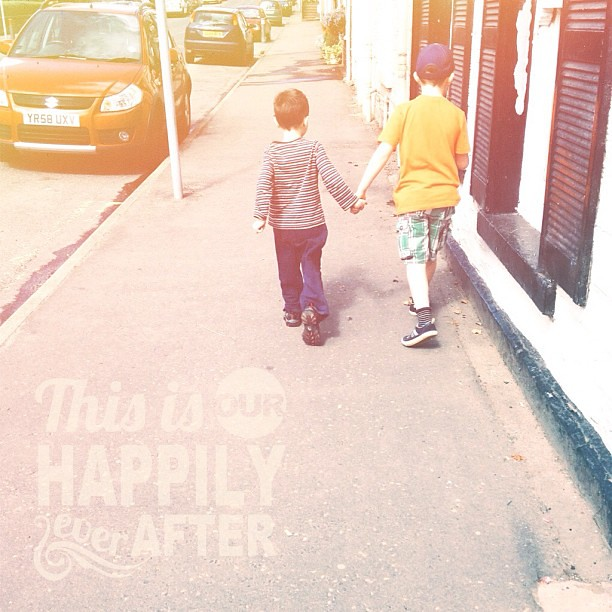 Brothers holding hands... #brothers #autism #love #neverthoughtitwouldhappen #proud