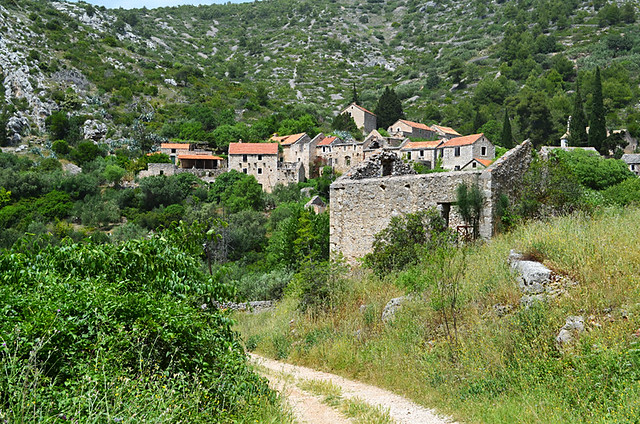 A Rural village, Hvar, Croatia