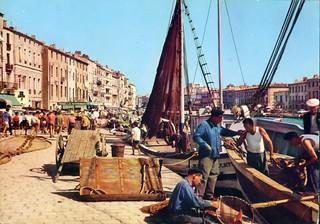 Pêcheurs, port de Sète, 1963