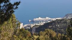 Mein Schiff 1, Port Hercules, Monaco, from Beausoleil, France
