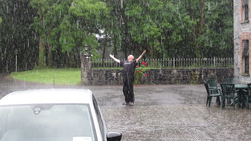 Jeff in the Rain