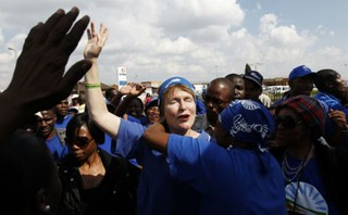 Hellen Zille on Voting Day 2011