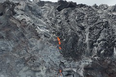 Lava in Hawaii/Big Island