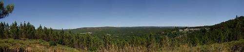 Panorama entre Sàtão et Lamas