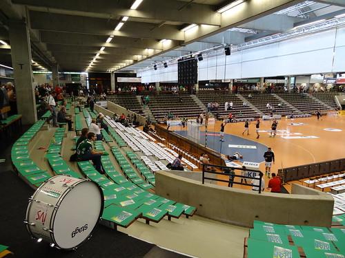 DSC04221 Hohenstaufenhalle, so-called EWS-Arena - home of Frisch Auf! Göppingen