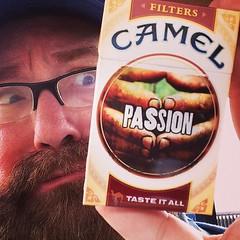 Camel Cigarette Pack