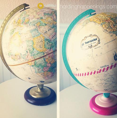 washi globe