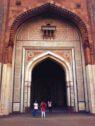 Qila Kuhna Masjid inside Purana Qila, Delhi. by Ravinepz