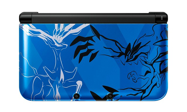 Pokémon X and Pokémon Y Limited Edition Nintendo 3DS XL Consoles