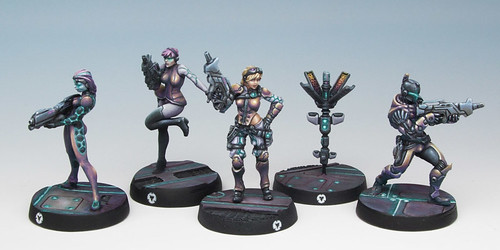 Infinity Aleph Squad So Far