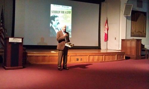Dr. Thomas J. Reigstad, author of Scribblin' for a Livin'