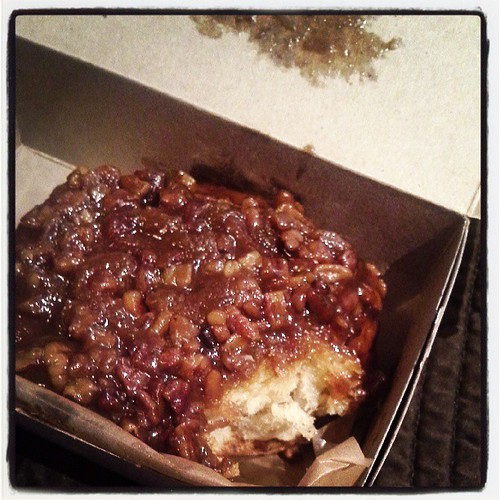 You have not lived until you've had the sticky bun from Flour. Fact.