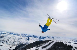 Freestyle skier (Sun Valley Facebook)
