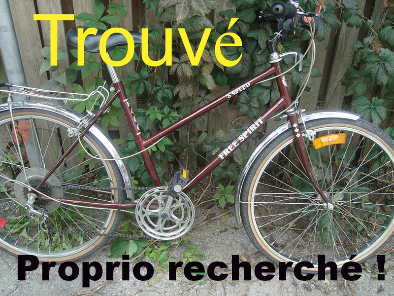 Trouvé / Found - Free Spirit 400