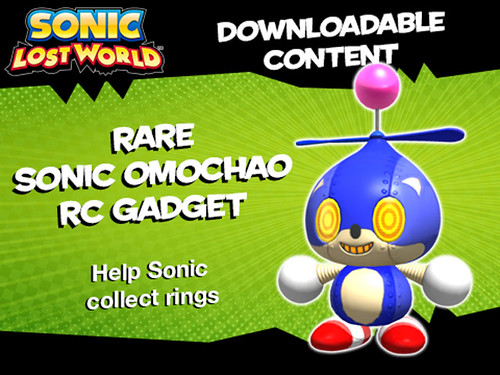 Sonic Lost World - GameStop Pre-order