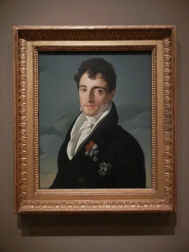 DSCN7628 _ Baron Joseph-Pierre Vialetès de Mortarieu, 1805-06, Jean-Auguste-Dominique Ingres (1780-1867), Norton Simon Museum, July 2013