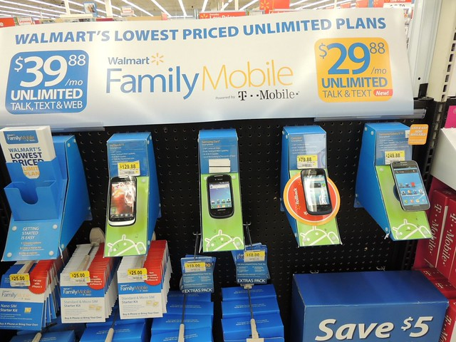 #FamilyMobileSaves #shop #cbias Walmart Family Mobile plans