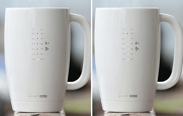 最佳饮用温度 Smart Mug智能杯-玩意儿