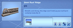 Steel Roof Ridge