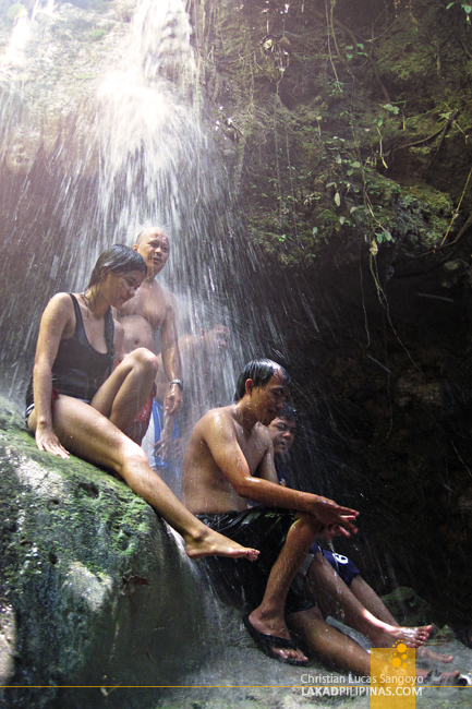 Waterfalling Adventure Tour Peeps at Kalubihon Falls in Iligan City