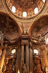 Interior of the St. Nicholas Church (Malá Strana)