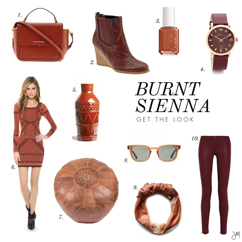 Julip Made color craving burnt sienna get the look