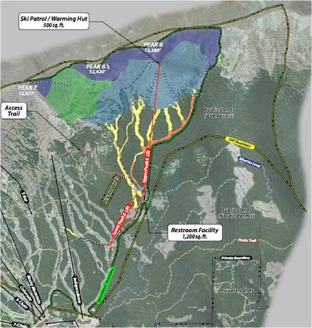 Peak 8 Breckenridge Map