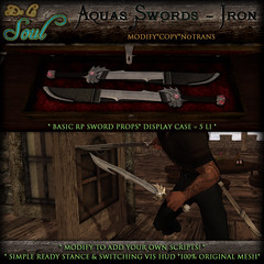 2013 DLS~ Aquas Swords - Iron