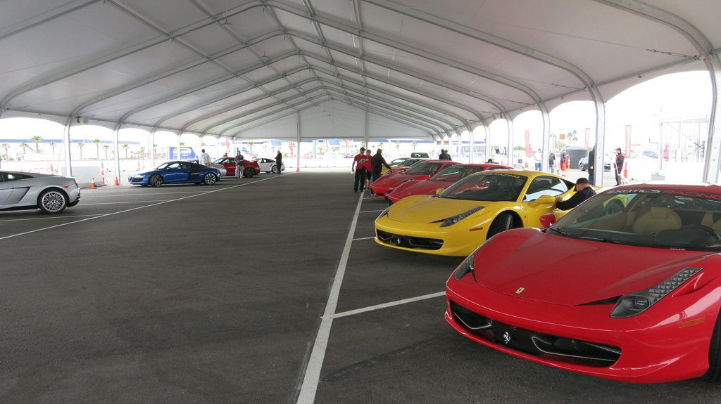 Exotics Racing cars