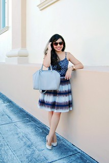 Anthropologie inkwell skirt with pockets