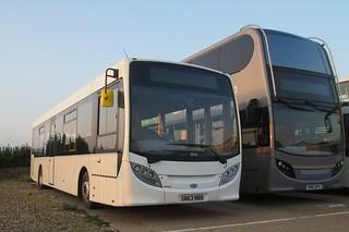 Coach services SN63NBB (c) Alan Cooper