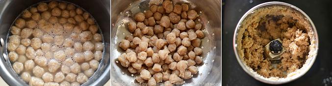 How to make soya kheema paratha  - Step2