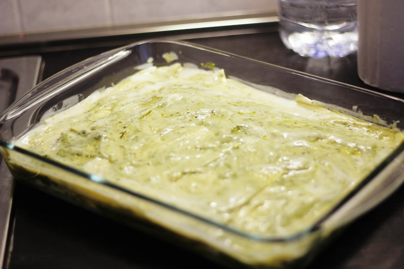 ricetta: lasagne al pesto