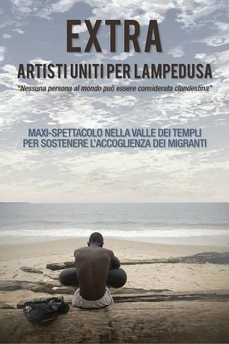 """Extra, artisti uniti per Lampedusa""$"