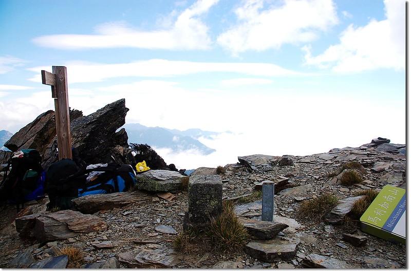 馬利加南山森林三角點(Elev. 3546 m) 1