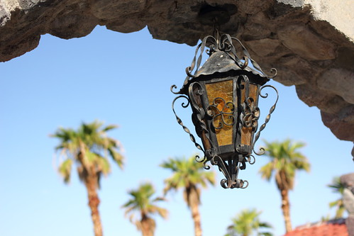 Furnace Creek Inn lantern