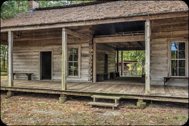 Rice Log Home 'dog trot'-Fl | Flickr - Photo Sharing!