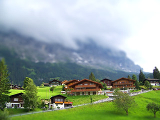 Tilt Shift - Grindelwald