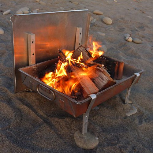 Wilderness Fire Pan by TyeWorks, Camping Cooking Equipment